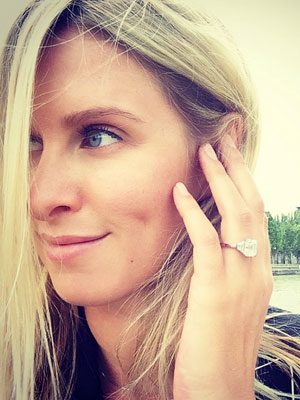 Nicky Hilton flashes engagement ring in flashback snap [Instagram]