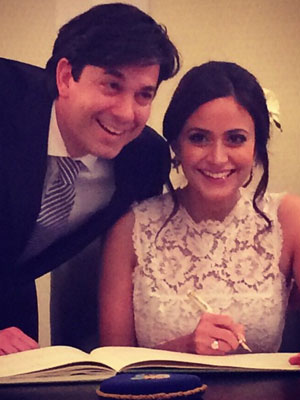 Adam Garcia, wedding day [Adam Garcia/Instagram]