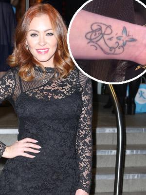 natasha hamilton gets tattoo of ex riad erraji s name covered up juicy celebrity gossip. Black Bedroom Furniture Sets. Home Design Ideas